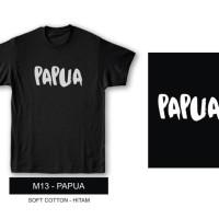 Kaos Tshirt Baju Combed 30S Distro Papua
