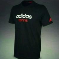 Kaos Tshirt Baju Combed 30S Distro Adidas Tennis