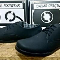 Sepatu Casual Dalmo Cowboy Koboi Hitam MURAH BUKAN nike adidas yeezy