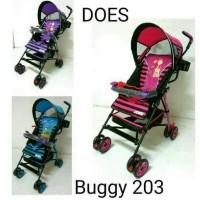 produk terlaris stroller babydoes buggy 203 khusus gojek/gosend