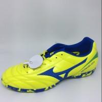 Sepatu futsal mizuno original Monarcida FS IN kuning biru new 2017