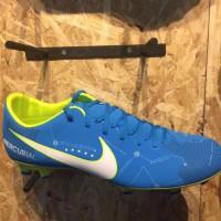 Sepatu bola nike original Mercurial Victory 4 NJR FG Neymar blue 201