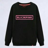 blackpink - baju murah atasan kaos cewek wanita remaja lengan panjang