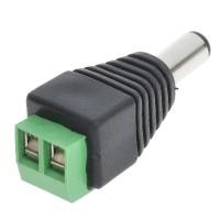 Jack DC Power Male untuk kabel CCTV