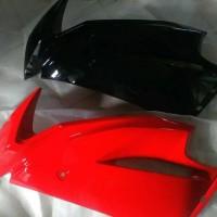 fairing ninja rr new atas hitam merah putih hijau polos