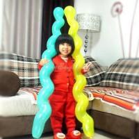 TERMURAH! Balon Spiral / Balon Keriting / Balon Panjang