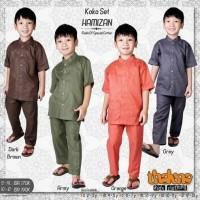 diskon 20% usia 10-13 th baju kemeja koko anak HAMIZAN dari THALUNA