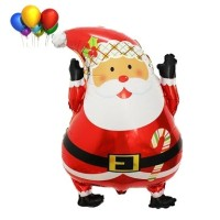 Balon Foil Santa Claus/ Balon Merry Christmas/ Balon Natal/ Balon Xmas