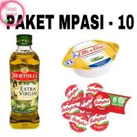 PAKET MPASI 10 EVOO Bertolli Keju BABYBEL Cheese UB Unsalted Butter