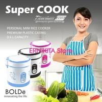 SUPER COOK BOLDe Personal Mini Rice Cooker 3 in 1 (0,6 L) - ORIGINAL