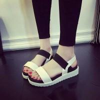 SALEEE Sandal DOCMART karet wanita murah / ecer terbaru flat shoes
