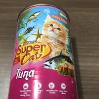 Super Cat Baby Kitten Tuna 400gram Supercat Makanan Anak Kucing Basah