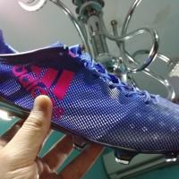 Sepatu Bola Soccer Adidas Adizero F50 99 Gram Blue Pink FG