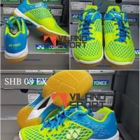 Sepatu Badminton Yonex SHB 03 EX Blue/Lime