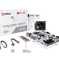 MSI B350 TOMAHAWK ARCTIC AM4 AMD B350