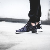 sepatu bape x adidas nmd xr1 boost black camo hitam