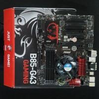 Motherboard MSI B85-G43 GAMING & INTEL CORE i5 4460