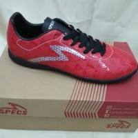 Sepatu Futsal Specs Quark In Chestnut Red/Black/Silver