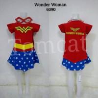 Baju Kostum Anak Cewek Wonder Woman Justice League