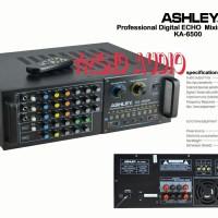 ampli power Mixer ASHLEY KA-6500/ASHLEY KA6500. ORIGINAL