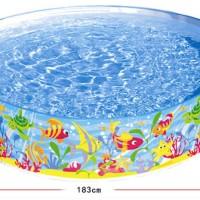 Kolam Anak / Kolam Renang INTEX Tanpa Pompa 183 cm SNAPSET POOL 5645