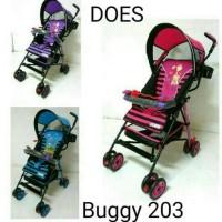 kualitas terbaik stroller babydoes buggy 203 khusus gojek/gosend