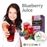 Minuman Kesehatan | Blueberry Juice Green World