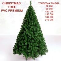 Pohon Natal Christmas Tree PVC Premium (Tinggi 180cm) - HO3327