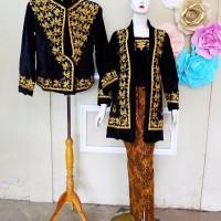 Baju Pengantin Jawa Couple Kebaya Jokowi Free Selop 2 pasang