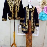 Kebaya Couple Kutubaru Jawa Baju Pengantin Jokowi Free Selop 2 pasang