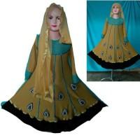 kostum tari india/ baju muslim/ dress/ baju gamis anak perempu