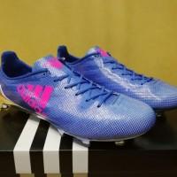 Sepatu Bola / Soccer Adidas Adizero F50 99 Gram Blue Pink - FG