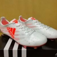 Sepatu Bola / Soccer Adidas Adizero F50 99 Gram White Solar Red - FG