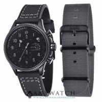 AVI 8 Man Hawker Hunter Watch Black Dial Black Leather AV 4036 05