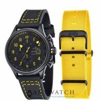 AVI 8 Man Hawker Hunter Watch Black Dial Black Leather AV 4036 01
