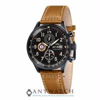 AVI 8 Man Hawker Hurricane Watch Black Dial Mustard AV 4011 06