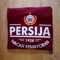 KAos Tshirt Baju Combed 30S Distro Persija Macan KEmayoran 1928