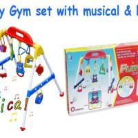 (PROMO) Baby musical play gym / musik mainan rattle bayi anak playgym