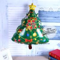 Balon foil pohon natal / christmas tree / balon natal / balon xmas #1