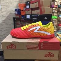 Sepatu Futsal Specs Equinox IN Emperor Red Yellow 400711 Original BNIB