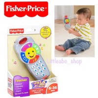 Fisher Price Click & Learn Remote / Mainan Bayi / Mainan Fisher Price