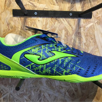 Sepatu futsal joma original maxima biru stabilo new 201 Berkualitas