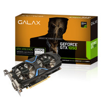 Galax Geforce GTX 1050 EXOC - Dual Fan 2GB DDR5 128 BIT