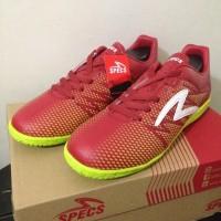 Sepatu Futsal Specs Apache IN Dark Red 400656 Original BNIB