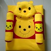 Set Kasur Bantal Guling Baby Baru Karakter Winnie The Pooh