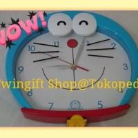 Jam Dinding Doraemon besar(KHUSUS GOJEK).