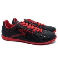 Sepatu Futsal Specs Quark In Black Emperor Red Original 2018