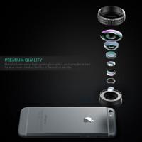 Aukey Optic Pro 238 (Real Gopro) Fish Eye Wide Lens Cli Diskon