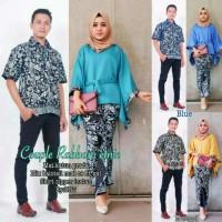Baju Couple Batik KEBAYA SARIMBIT RABBANI SET