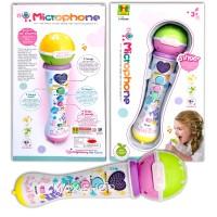 Microphone - Mainan Edukasi Anak Musik Singer Dance - Mike - Lagu